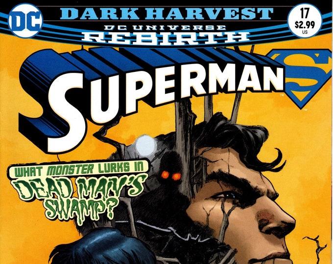 Superman #17 Cover A April 2017 DC Comics Grade NM