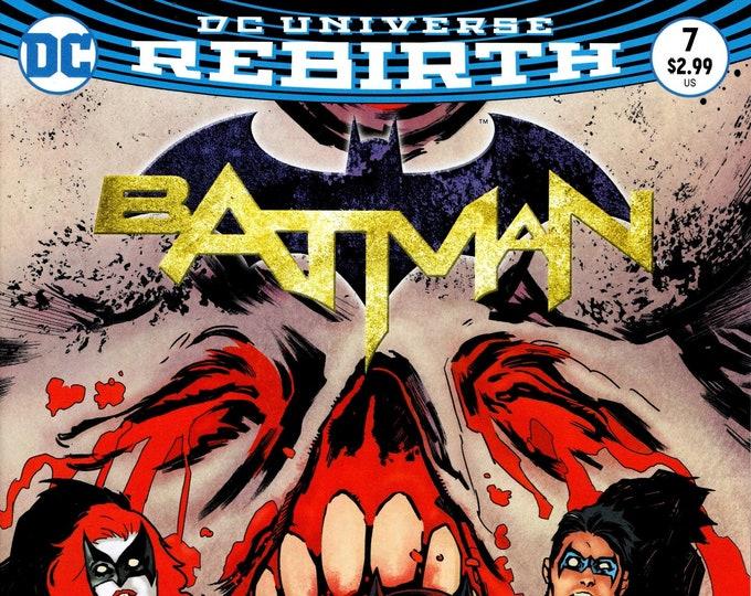 Batman #7 (Night of the Monster Men: Part 1) November 2016 DC Comics Grade NM