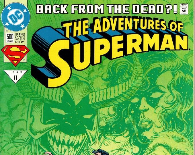 Adventures of Superman #500A (1987 Series)  June 1993 DC Comics Grade NM