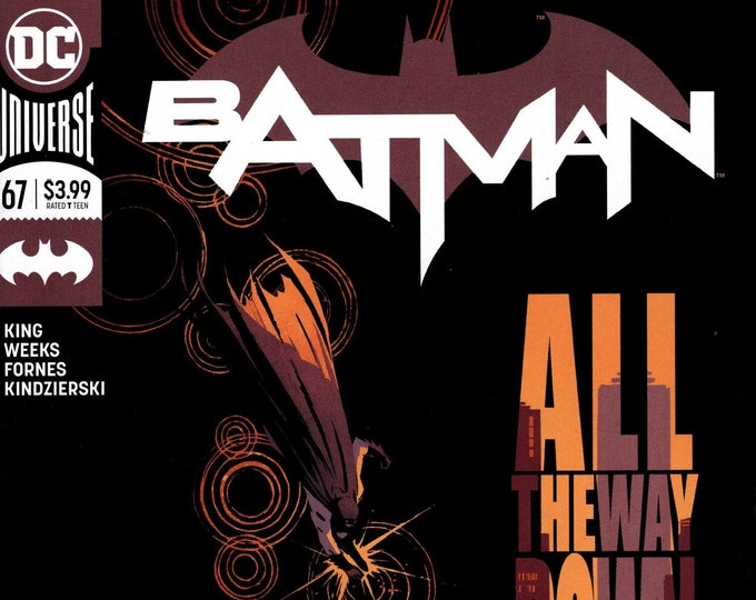 Batman #67 (3rd Series) May 2019  DC Comics    Grade NM