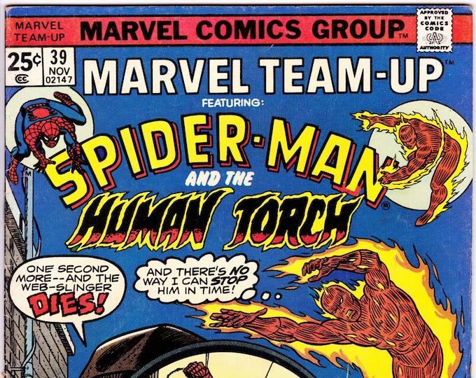 Marvel Team-Up #39  November 1975   Marvel Comics   Grade Fine