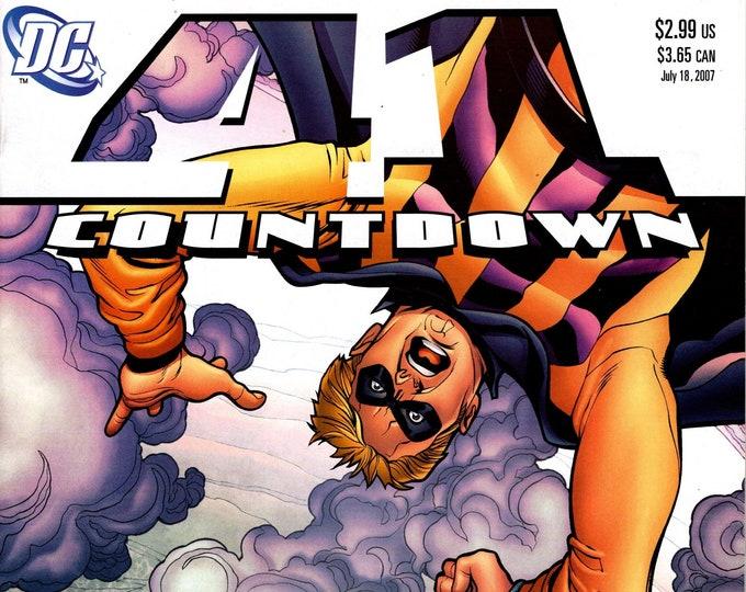 Countdown #41 September 2007   DC Comics  Grade NM