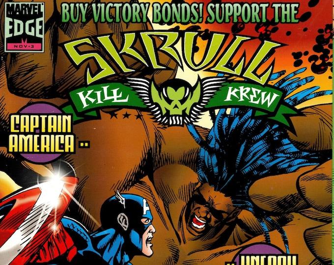 Skrull Kill Krew #3 November 1995  Marvel Comics  Grade NM