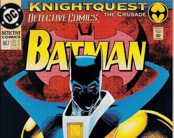 Detective Comics #667 (1937 1st Series) October 1993   DC Comics   Grade NM