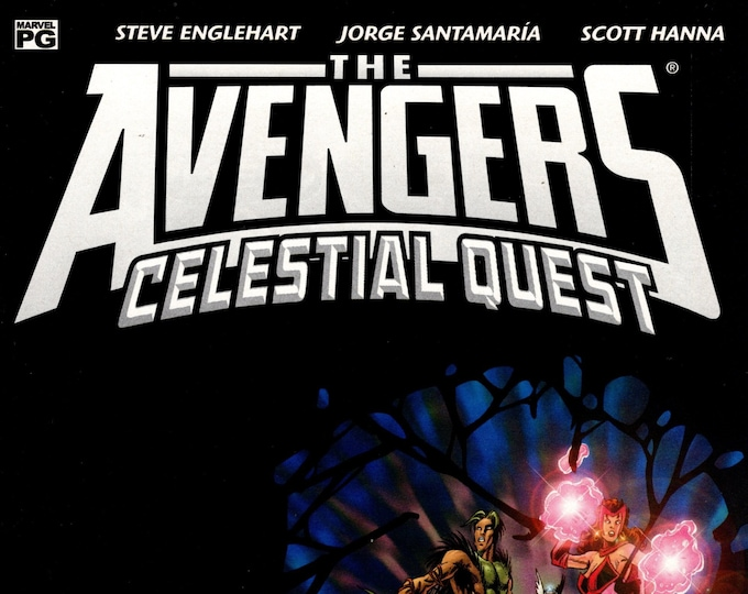 Avengers Celestial Quest #8 June 2002  Marvel Comics  Grade NM
