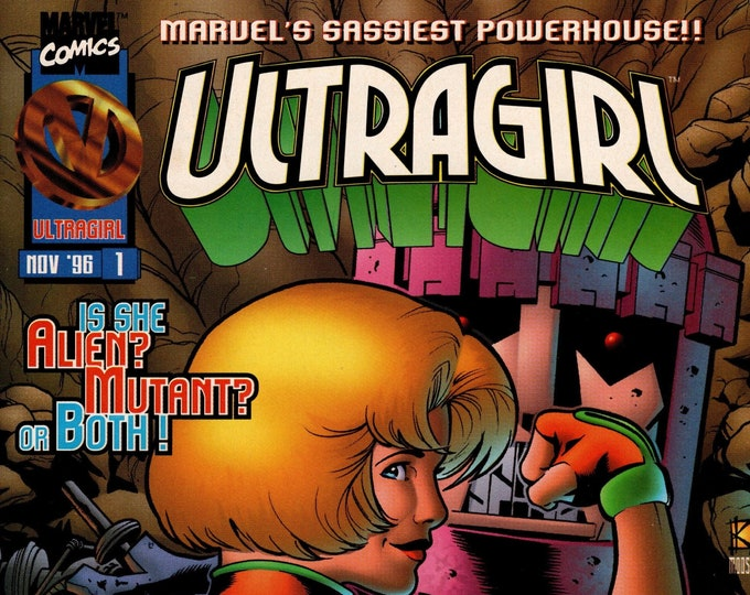 Ultragirl #1 November 1996  Marvel Comics  Grade NM
