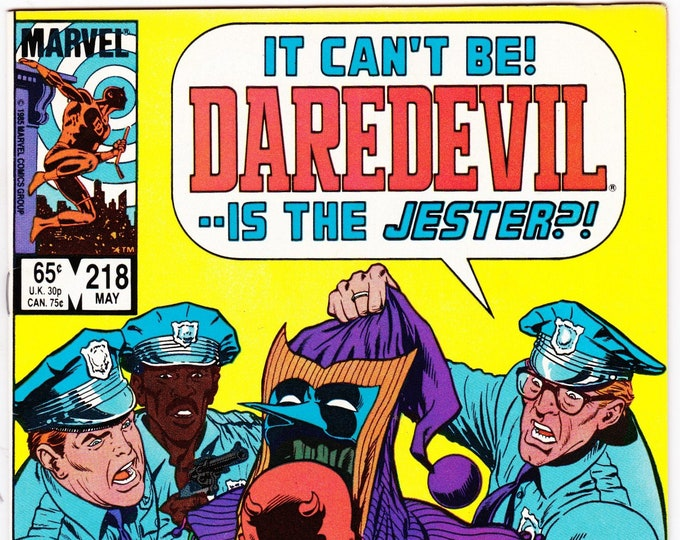 Daredevil #218    May 1985    Marvel Comics    Grade NM