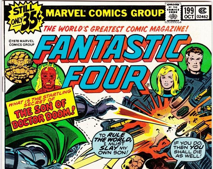 Fantastic Four #199 (1st Series 1961) October 1978    Marvel Comics  Grade VF/NM