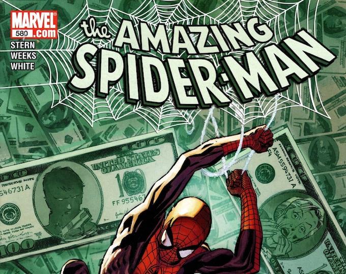 Amazing Spider-Man #580 February Issue Marvel Comics Grade NM