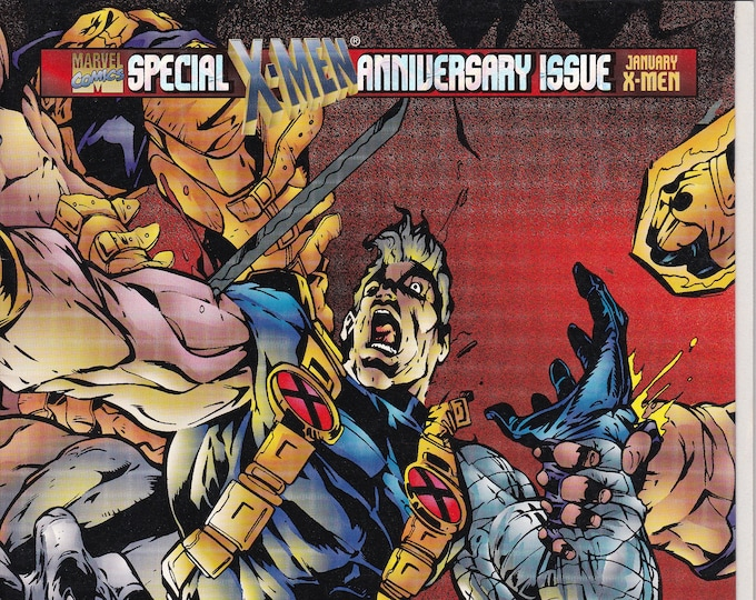 X-Force #50DA (1991 1st Series) January 1996  Marvel Comics  Grade NM