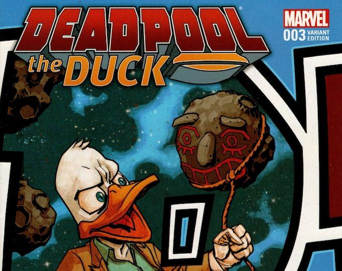 Deadpool The Duck #3 Cover B April Issue Marvel Comics Grade NM