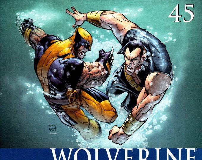 Wolverine #45 October Issue Marvel Comics Grade VF