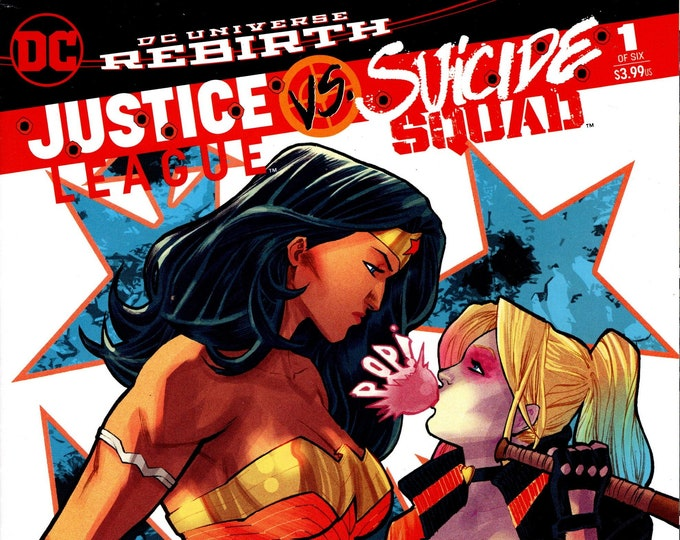 Justice League vs Suicide Squad #1 Fried Pie Variant Cover February Issue   DC Comics  Grade NM