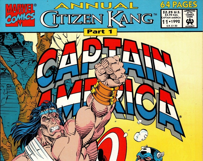 Captain America Annual #11     1992      Marvel Comics  Grade NM