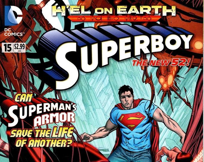 Superboy #15 February Issue  DC Comics  Grade NM