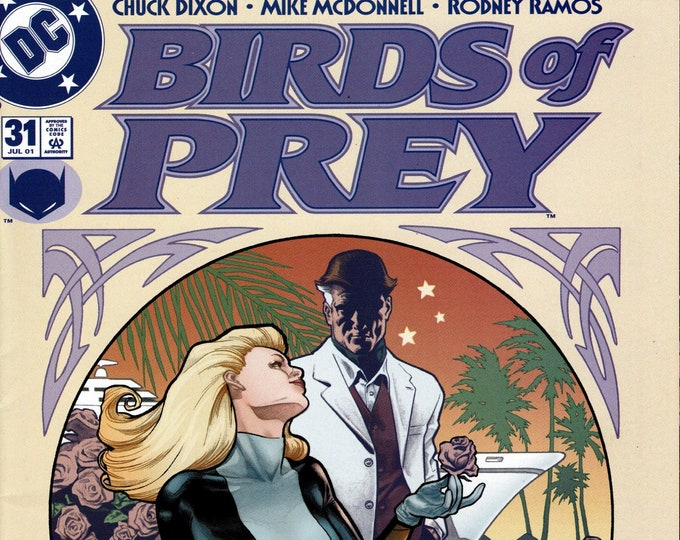 Birds of Prey #31 July 2001  DC Comics  Grade VF
