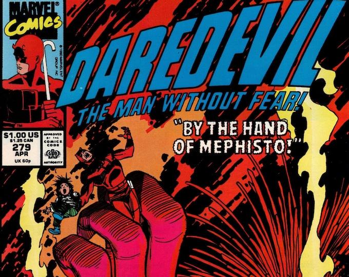 Daredevil #279 April 1990  Marvel Comics  Grade NM