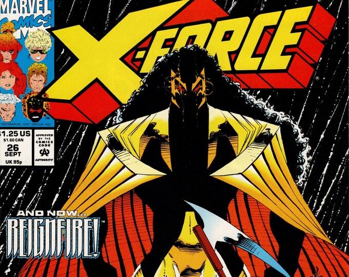 X-Force #26 (1991 1st Series)  September 1993  Marvel Comics  Grade NM