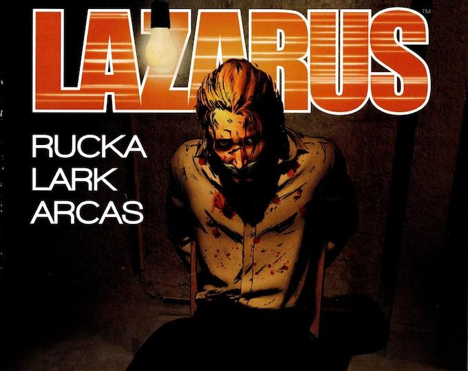 Lazarus #10 August Issue Image Comics Grade VF