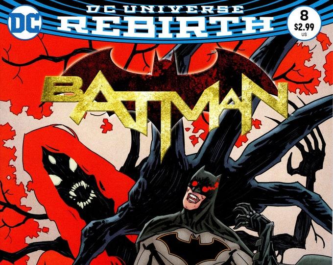 Batman #8 (Night of the Monster Men: Part 4) December 2016 DC Comics Grade NM
