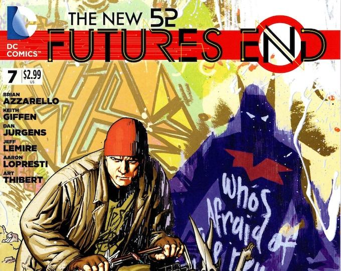 Futures End #7 August 2014 DC Comics Grade NM