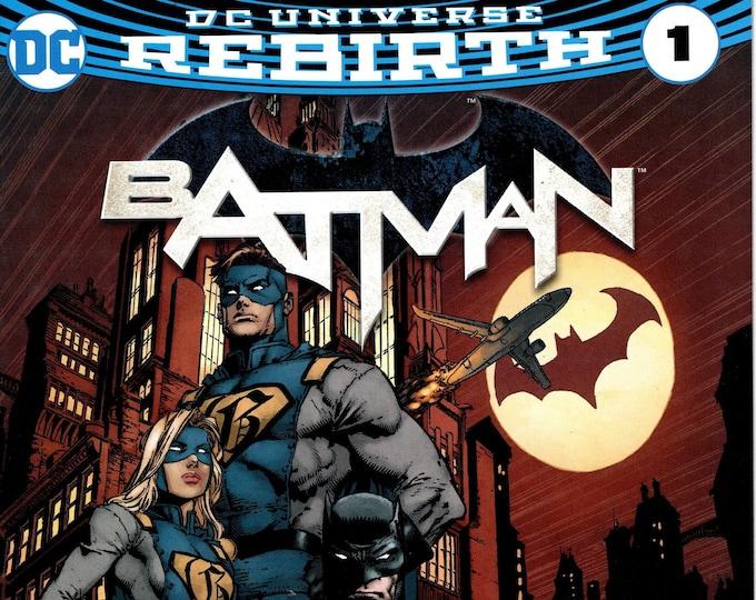 Batman #1 Walmart Variant Edition DC Rebirth September Issue DC Comics  Grade NM