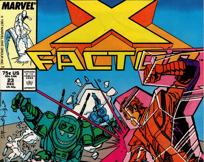 X-Factor #23 (1st Series 1986) December 1987   Marvel Comics   Grade NM