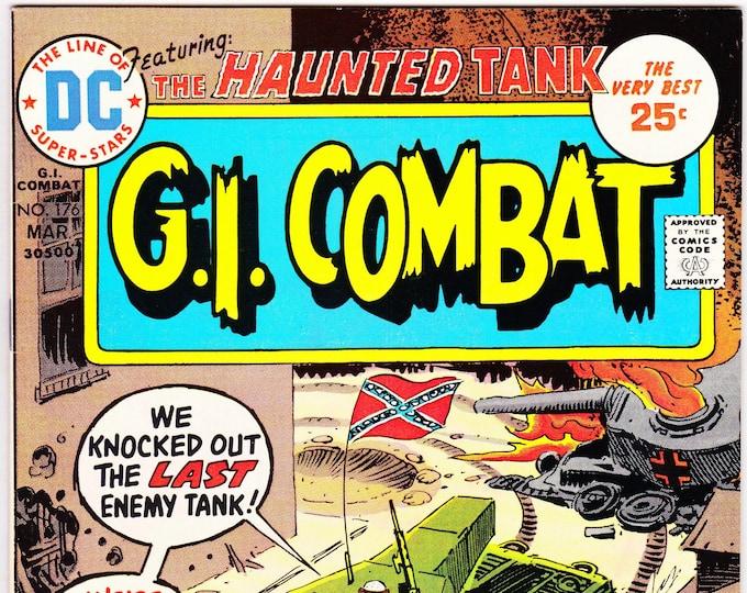 G.I. Combat #176 (1st Series 1952) March 1975   DC Comics   Grade NM