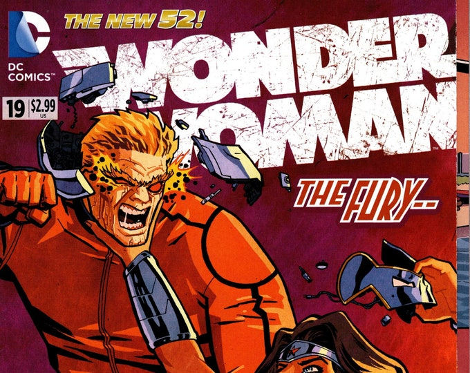 Wonder Woman #19 June Issue DC Comics Grade NM