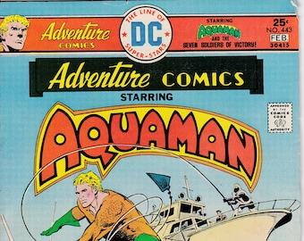Adventure Comics #443 - February 1976 issue - DC Comics - Grade VG