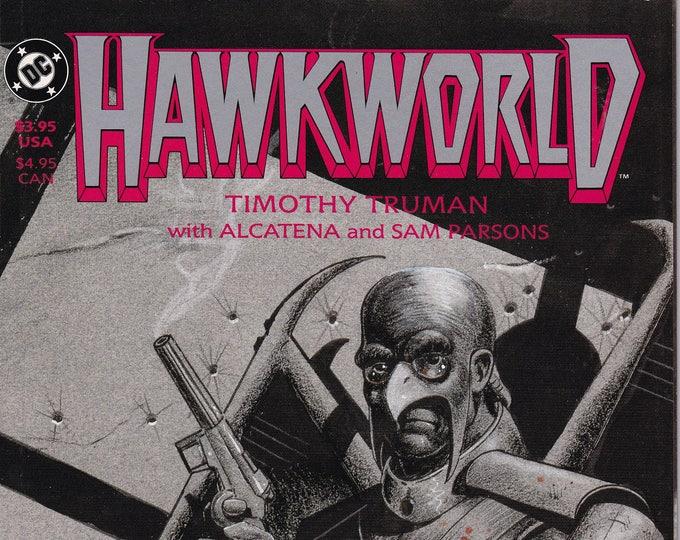 Hawkworld #2 (1989 Limited Series) September 1989 DC Comics Grade NM