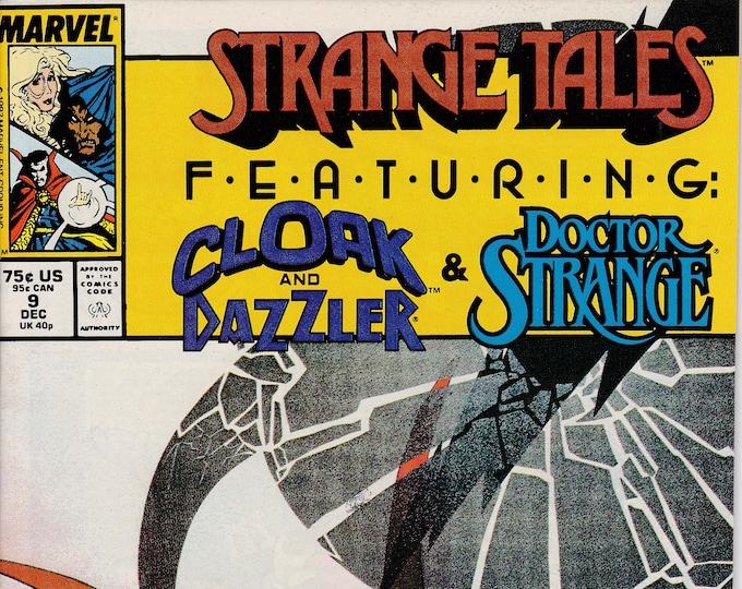 Strange Tales #9 (1987 2nd Series)  December 1987 Marvel Comics Grade NM