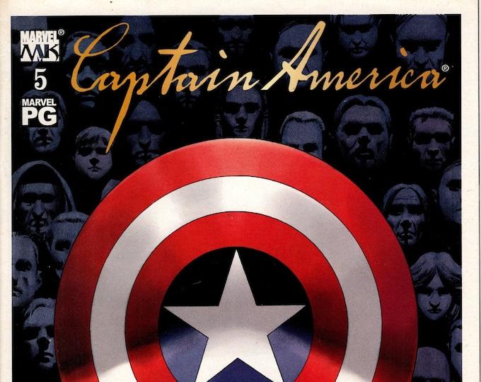 Captain America #5 October 2002  Marvel Comics  Grade VF