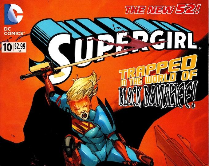 Supergirl #10 August Issue DC Comics Grade NM