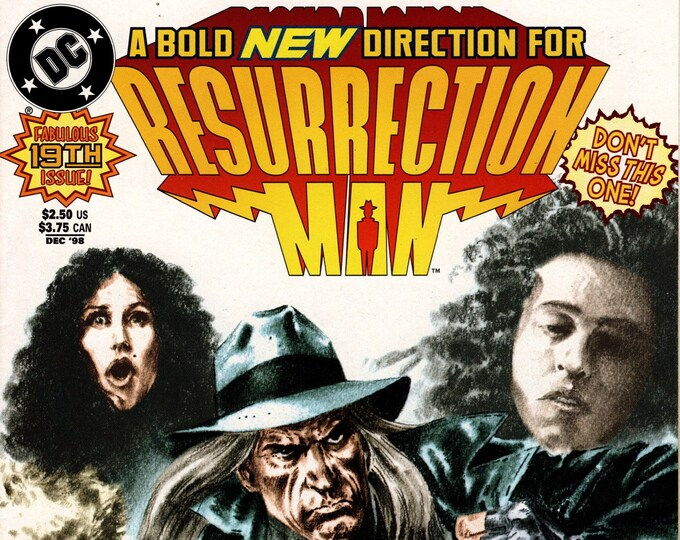 Resurrection Man #19 December 1998 Issue DC Comics Grade NM