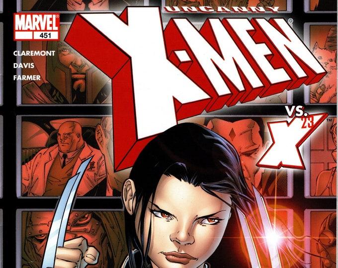 Uncanny X-Men #451 (Marvel Legends) June Issue  Marvel Comics  Grade NM