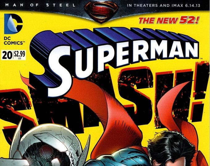 Superman #20 July 2013 DC Comics Grade NM