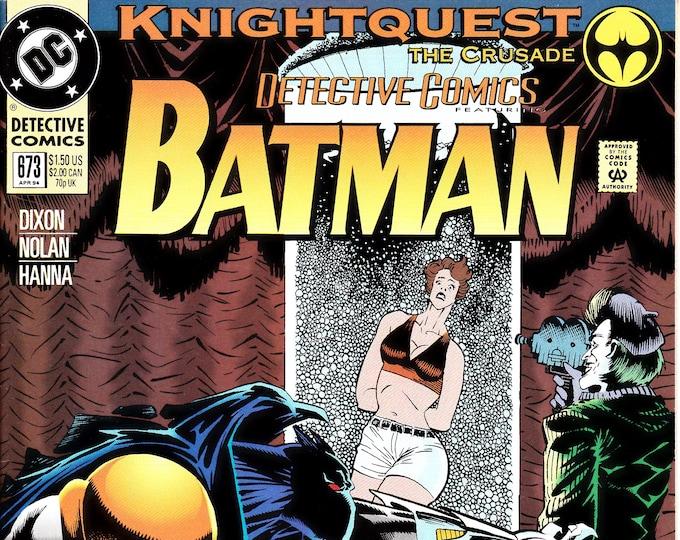 Detective Comics #673 (1st Series 1937) April 1994  DC Comics  Grade NM