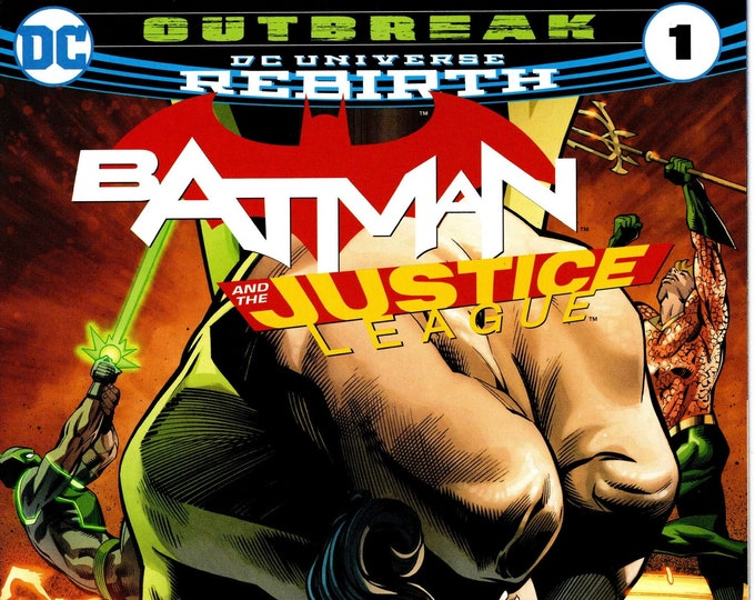 Batman and the Justice League #1 (Outbreak Edition) Walmart Exclusive Variant Cover DC July 2017 DC Comics  Grade NM