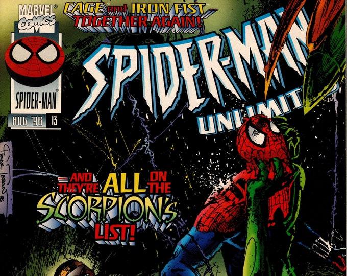 Spider-Man Unlimited #13 (1st Series 1993) August 1996    Marvel Comics   Grade NM