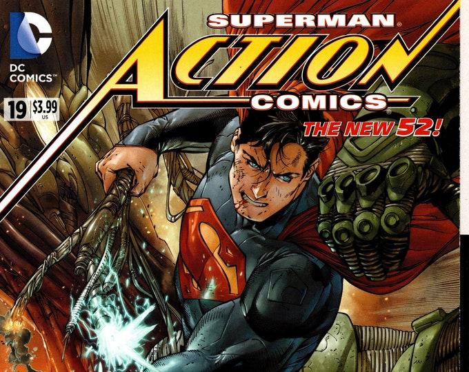 Action Comics #19 June 2013 DC Comics Grade NM