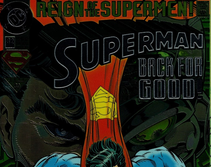 Superman #82 (2nd Series 1987) October 1993   DC Comics   Grade NM