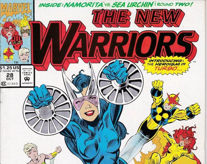 New Warriors #28 (1990 1st Series) October 1992  Marvel Comics  Grade NM