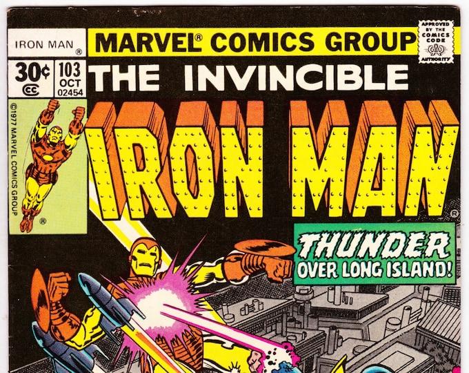 Iron Man #103 (1st Series 1968 ) October 1977    Marvel Comics  Grade VF