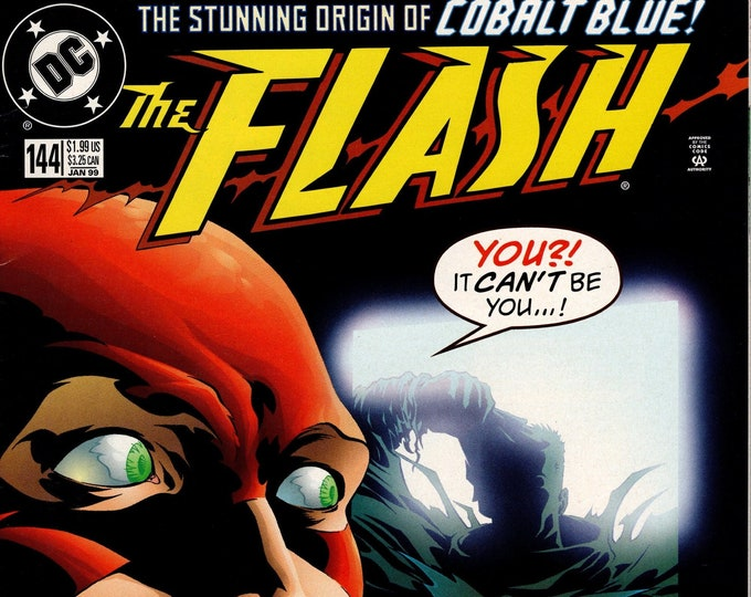 Flash #144 (1987 2nd Series) January 1999 DC Comics Grade VF