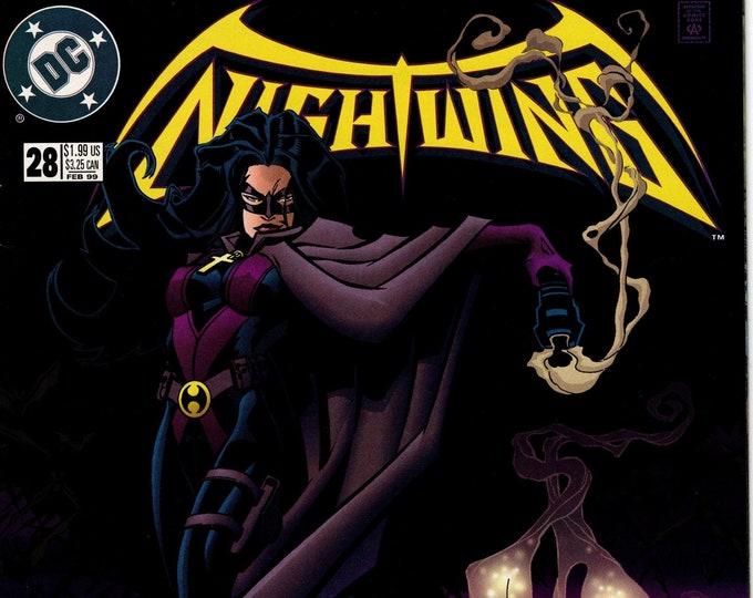 Nightwing #28 (1996-2009 Series) February 1999 DC Comics Grade VF/NM