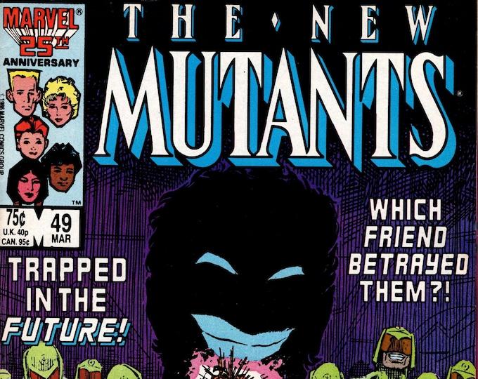 New Mutants #49 (1983 1st Series) March 1987  Marvel Comics Grade F/VF