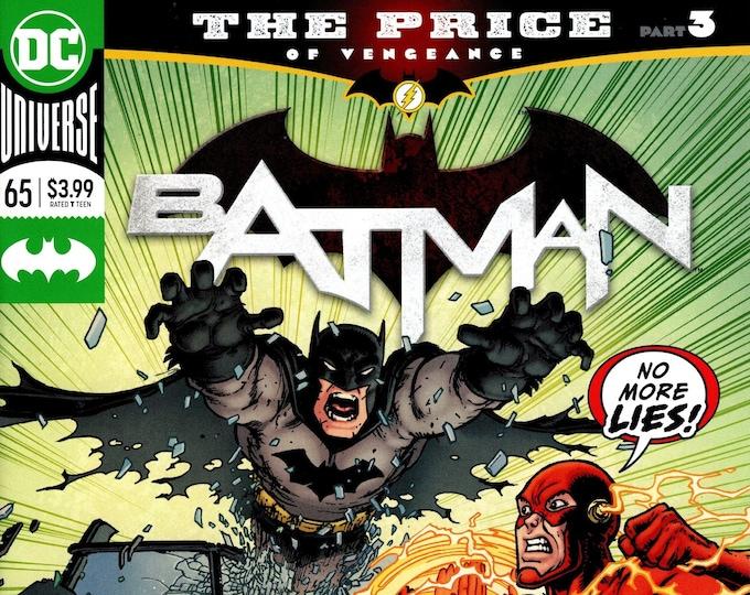 Batman #65 Cover A (3rd Series) April 2019  DC Comics Grade NM