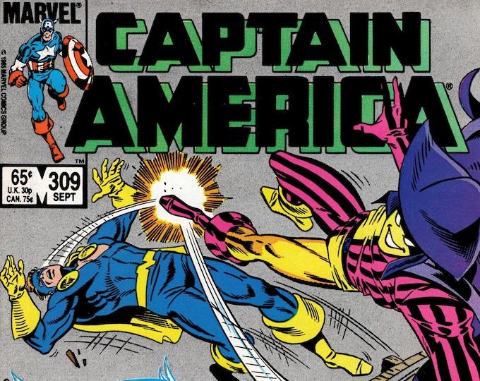 Captain America #309 (1968 1st Series) September 1985   Marvel Comics    Grade NM