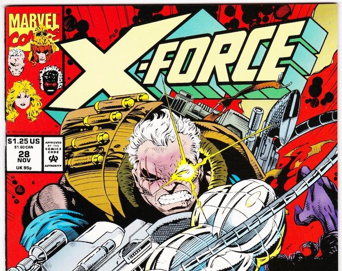 X-Force #28 (1st Series 1991) November 1993  Marvel Comics  Grade NM